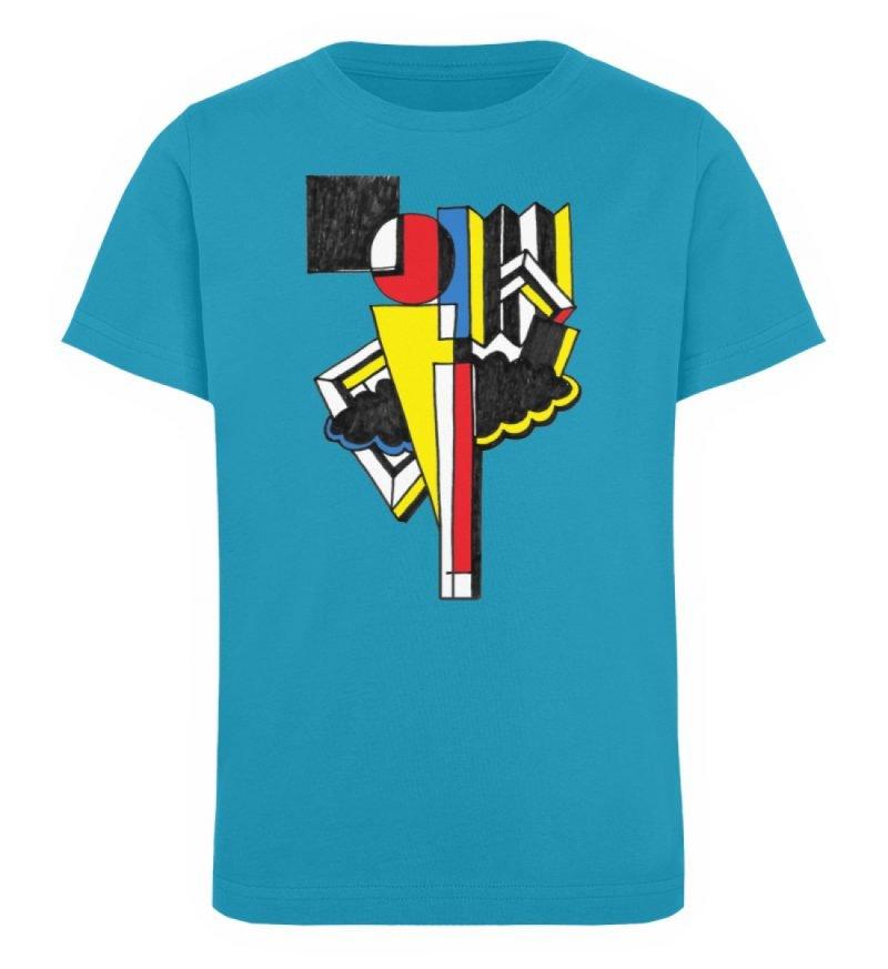 """""""Lollyportrait"""" von Alex Rath - Kinder Organic T-Shirt-6877"""
