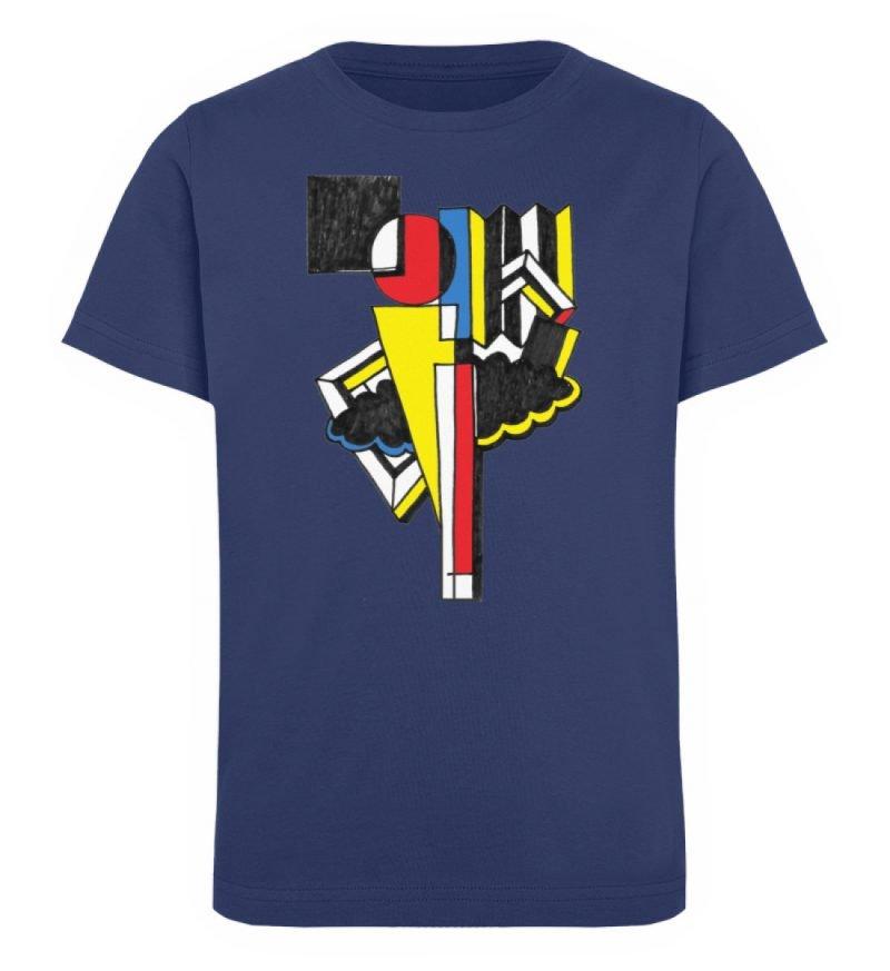 """""""Lollyportrait"""" von Alex Rath - Kinder Organic T-Shirt-6057"""
