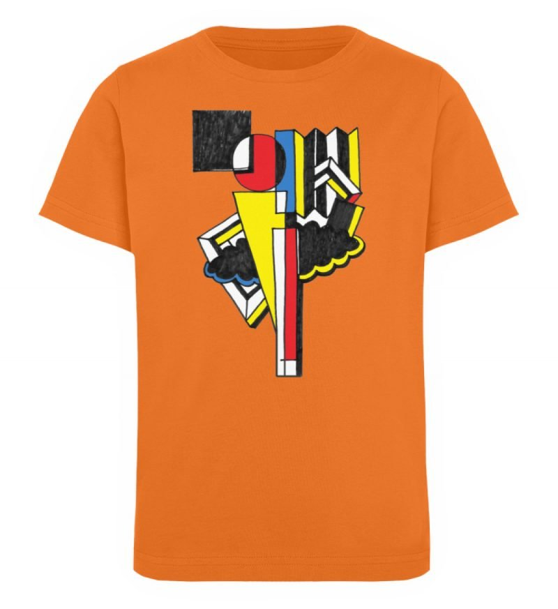 """""""Lollyportrait"""" von Alex Rath - Kinder Organic T-Shirt-6882"""