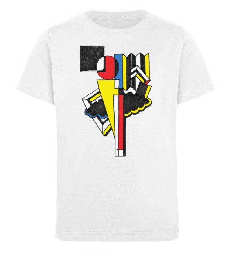 """""""Lollyportrait"""" von Alex Rath - Kinder Organic T-Shirt-3"""