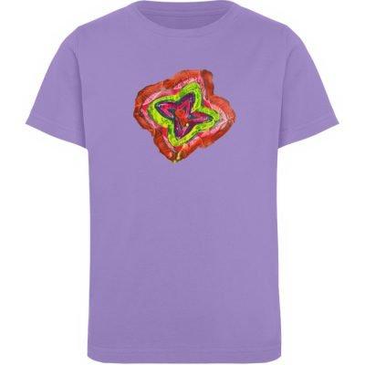"""""""Aus der Mitte 2"""" von Carolin Leyck - Kinder Organic T-Shirt-6884"""
