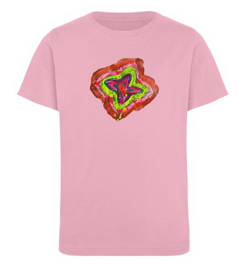 """""""Aus der Mitte 2"""" von Carolin Leyck - Kinder Organic T-Shirt-6883"""