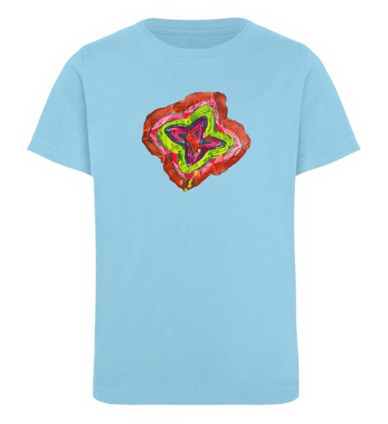 """""""Aus der Mitte 2"""" von Carolin Leyck - Kinder Organic T-Shirt-674"""