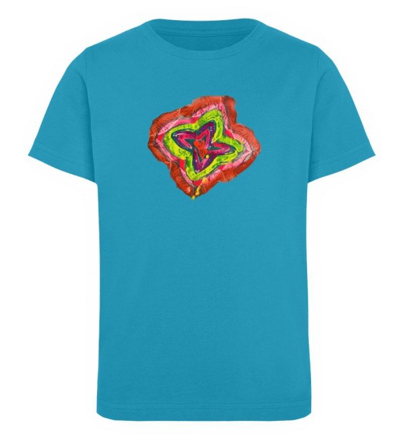 """""""Aus der Mitte 2"""" von Carolin Leyck - Kinder Organic T-Shirt-6877"""