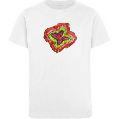"""""""Aus der Mitte 2"""" von Carolin Leyck - Kinder Organic T-Shirt-3"""