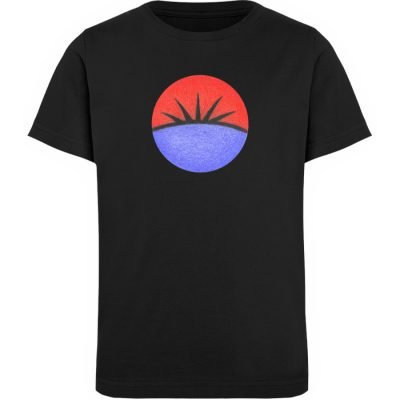 """Auge"" von Monika Kapfer - Kinder Organic T-Shirt-16"