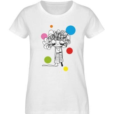 """""""Standpunkte Dream"""" von Susanne Beucher - Damen Premium Organic Shirt-3"""