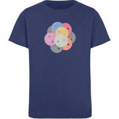 """Knöpfe 1"" von Monika Kapfer - Kinder Organic T-Shirt-6057"