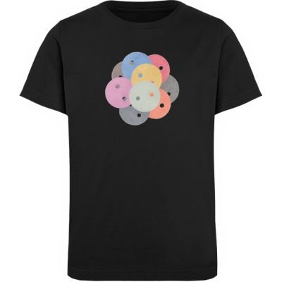 """Knöpfe 1"" von Monika Kapfer - Kinder Organic T-Shirt-16"
