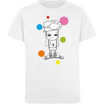 """""""Standpunkte 1"""" von Susanne Beucher - Kinder Organic T-Shirt-3"""