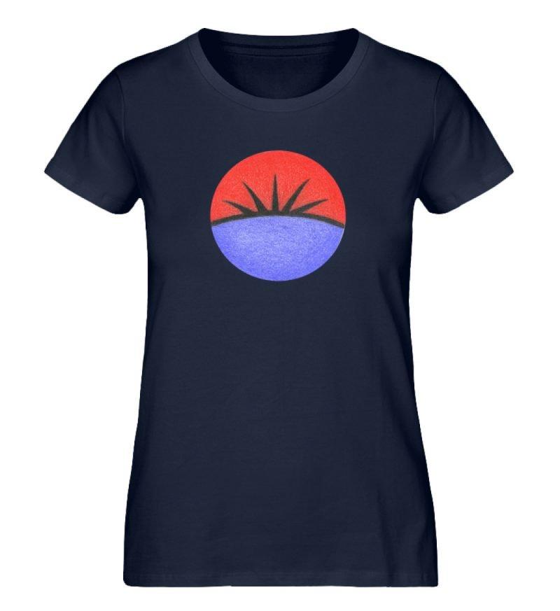 """Auge"" von Monika Kapfer - Damen Premium Organic Shirt-6959"