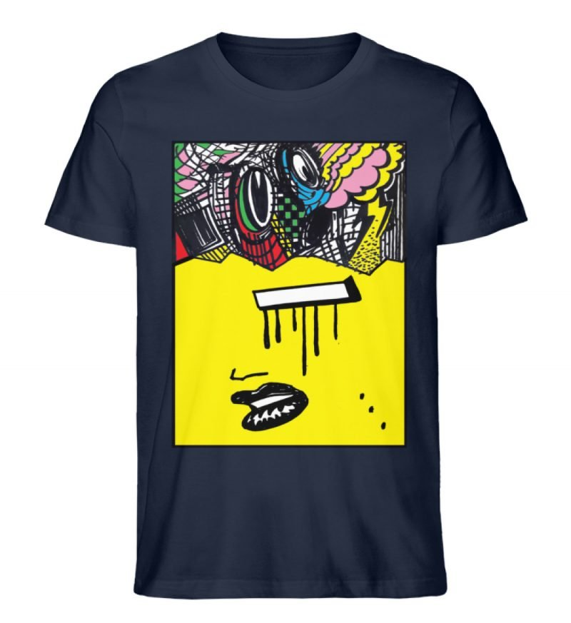 """""""Foxy Fear"""" von Alex Rath - Herren Premium Organic Shirt-6959"""