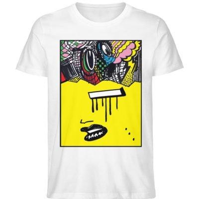 """""""Foxy Fear"""" von Alex Rath - Herren Premium Organic Shirt-3"""