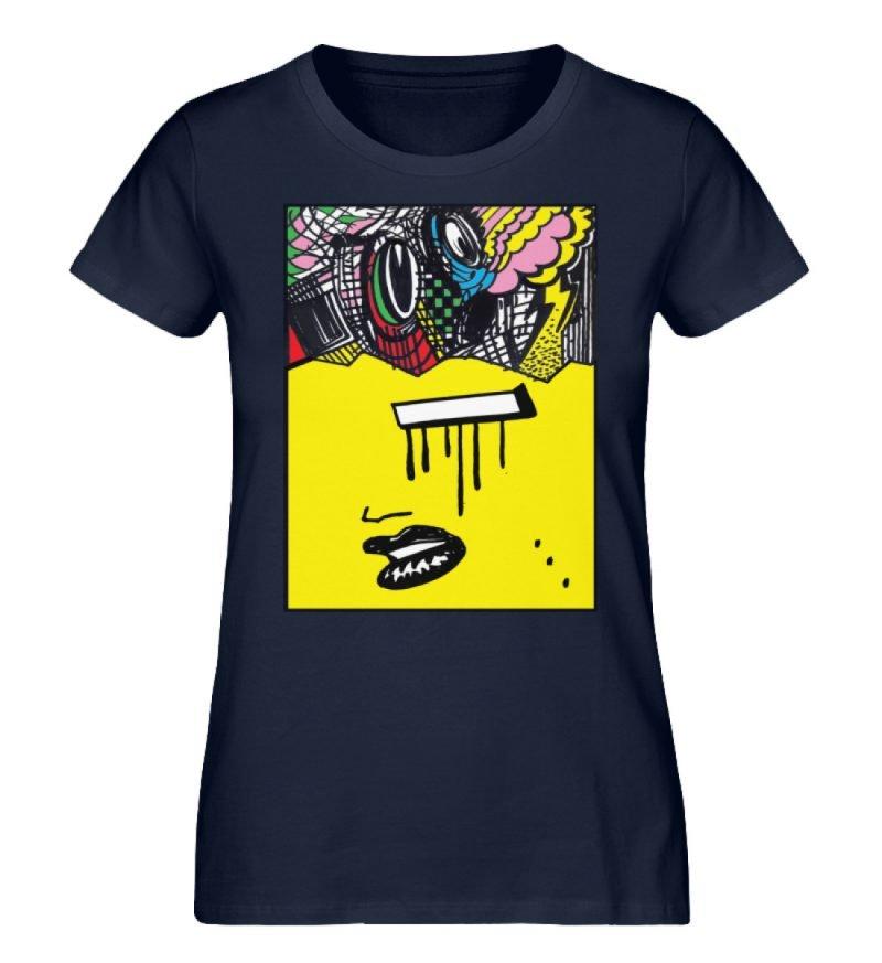 """""""Foxy Fear"""" von Alex Rath - Damen Premium Organic Shirt-6959"""