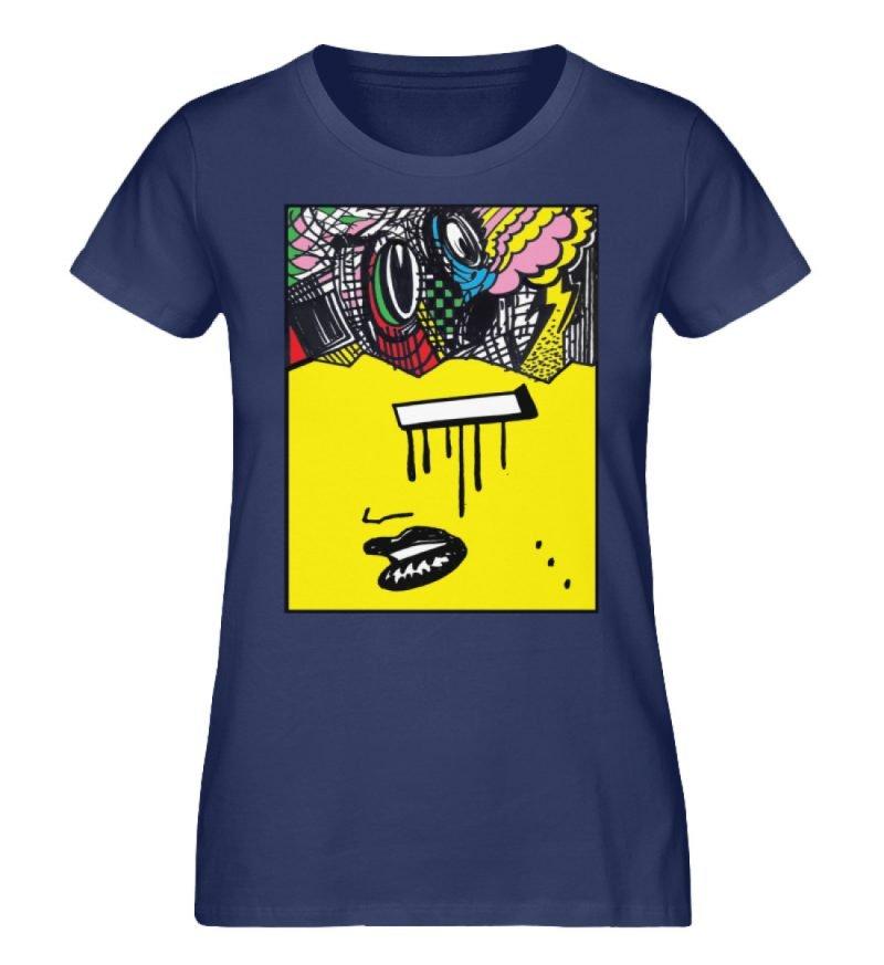 """""""Foxy Fear"""" von Alex Rath - Damen Premium Organic Shirt-6057"""