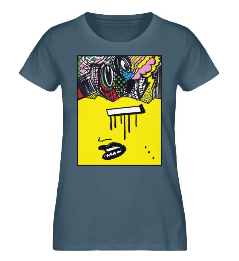 """""""Foxy Fear"""" von Alex Rath - Damen Premium Organic Shirt-6880"""