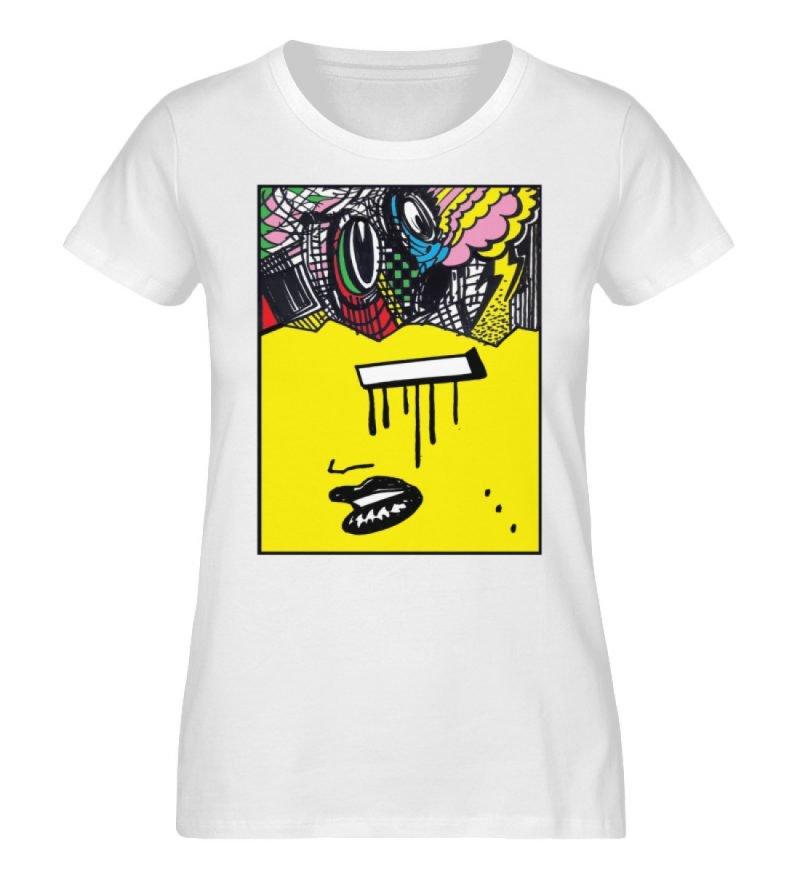 """""""Foxy Fear"""" von Alex Rath - Damen Premium Organic Shirt-3"""