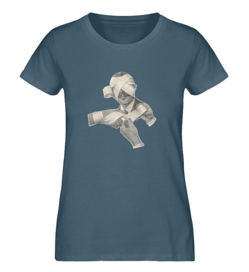 """""""Schlemiel"""" von Elisabeth Endres - Damen Premium Organic Shirt-6880"""