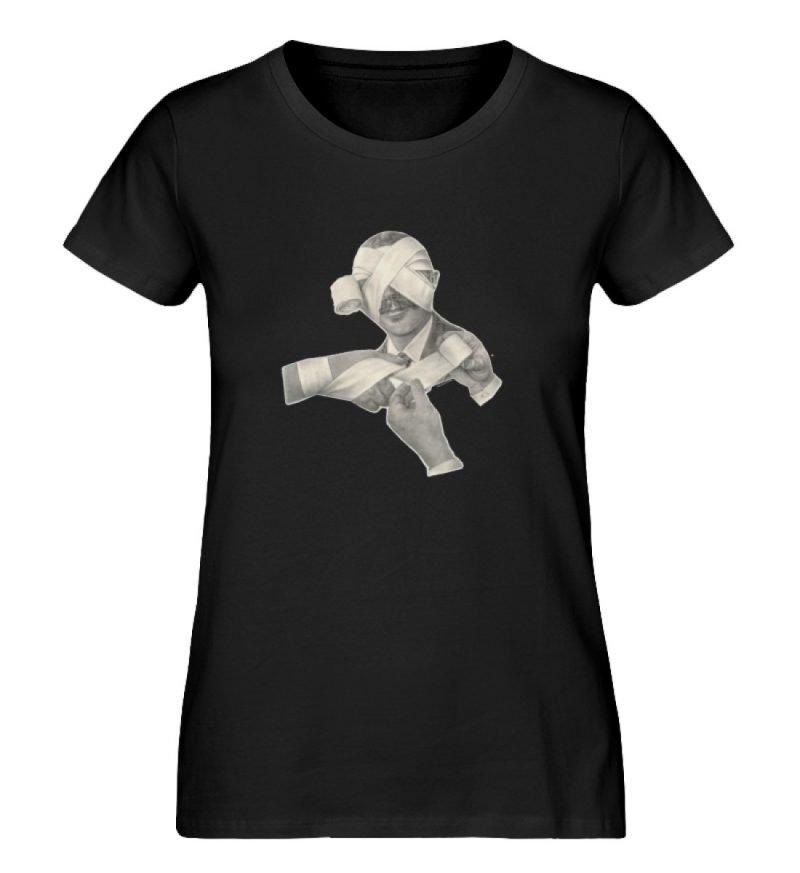 """""""Schlemiel"""" von Elisabeth Endres - Damen Premium Organic Shirt-16"""