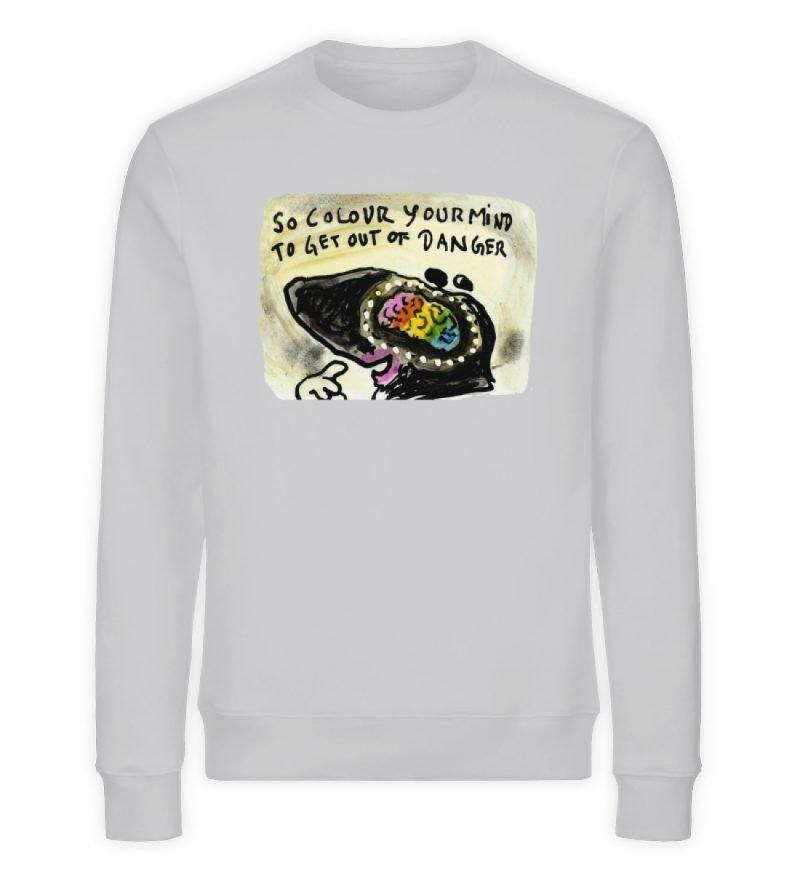 """""""so colour your mind..."""" von Steffen Haa - Unisex Organic Sweatshirt-17"""
