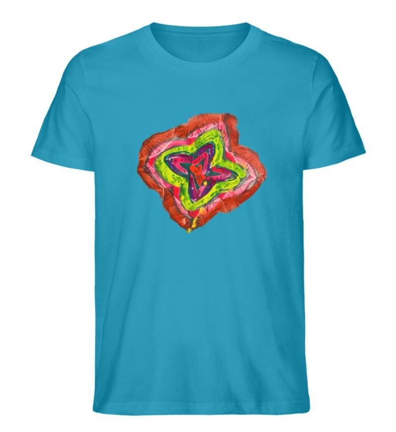 """""""Aus der Mitte 2"""" von Carolin Leyck - Herren Premium Organic Shirt-6877"""