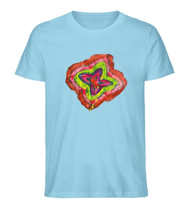"""""""Aus der Mitte 2"""" von Carolin Leyck - Herren Premium Organic Shirt-674"""