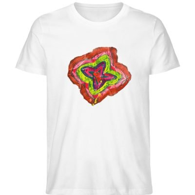 """""""Aus der Mitte 2"""" von Carolin Leyck - Herren Premium Organic Shirt-3"""