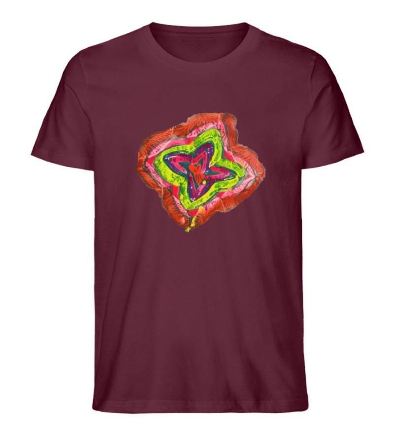 """""""Aus der Mitte 2"""" von Carolin Leyck - Herren Premium Organic Shirt-839"""