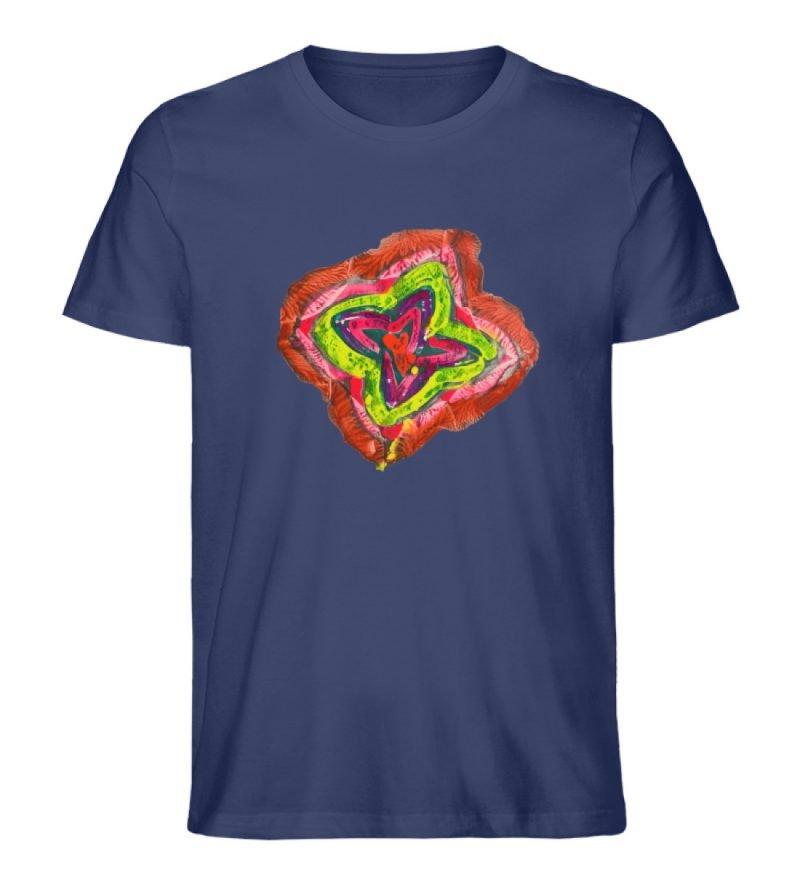 """""""Aus der Mitte 2"""" von Carolin Leyck - Herren Premium Organic Shirt-6057"""