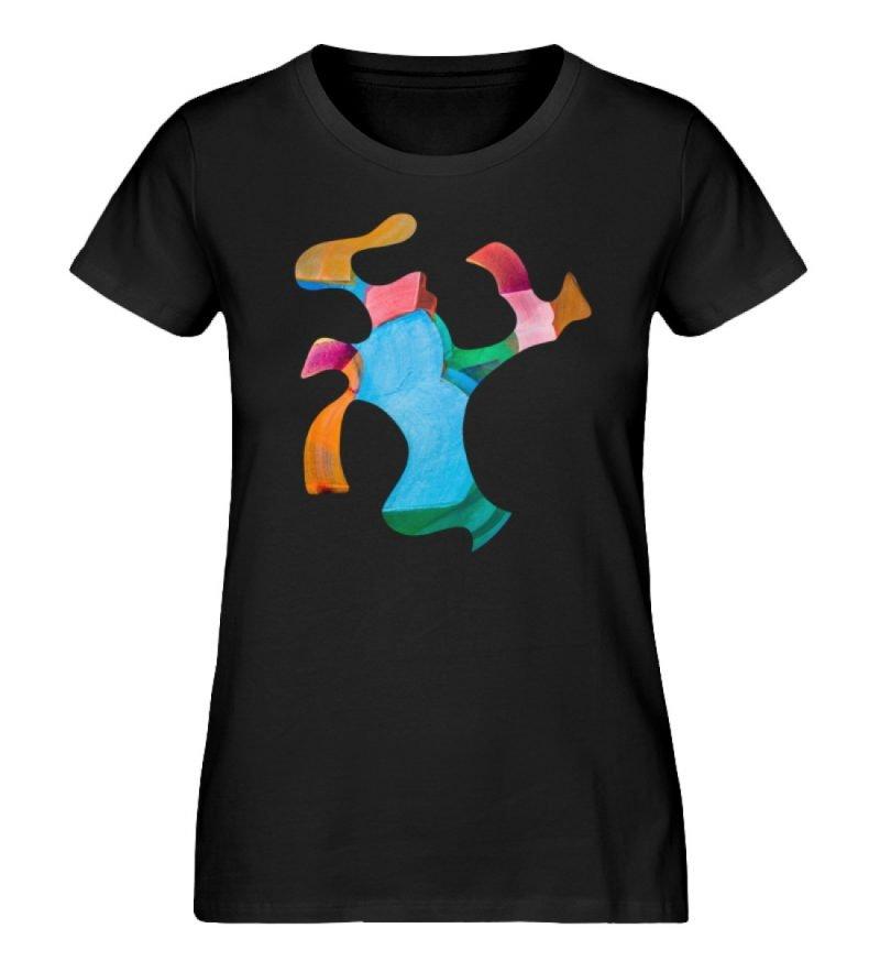 """""""Lob des Schattens 1"""" von Carolin Leyck - Damen Premium Organic Shirt-16"""