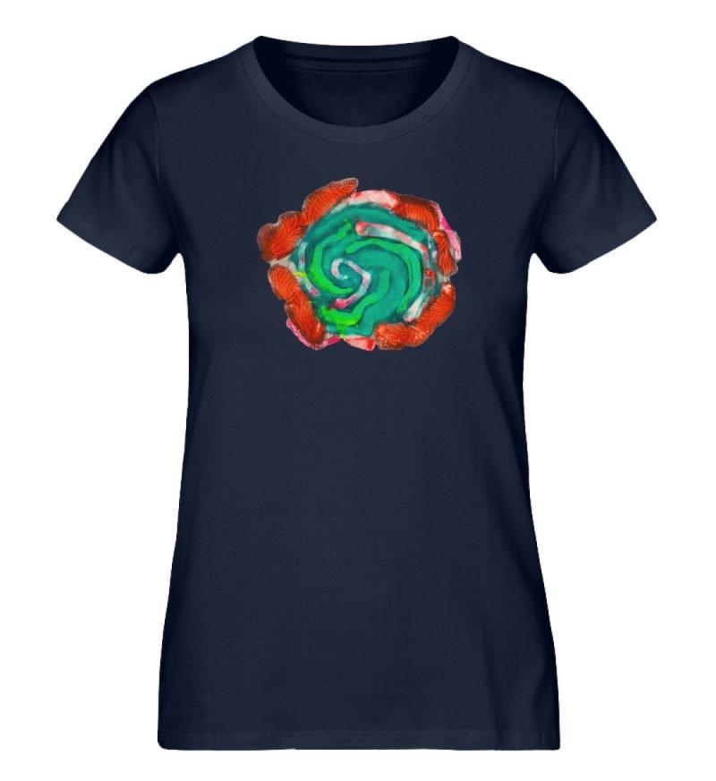 """""""Aus der Mitte 4"""" von Carolin Leyck - Damen Premium Organic Shirt-6959"""