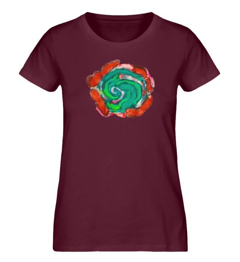 """""""Aus der Mitte 4"""" von Carolin Leyck - Damen Premium Organic Shirt-839"""