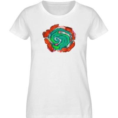 """""""Aus der Mitte 4"""" von Carolin Leyck - Damen Premium Organic Shirt-3"""