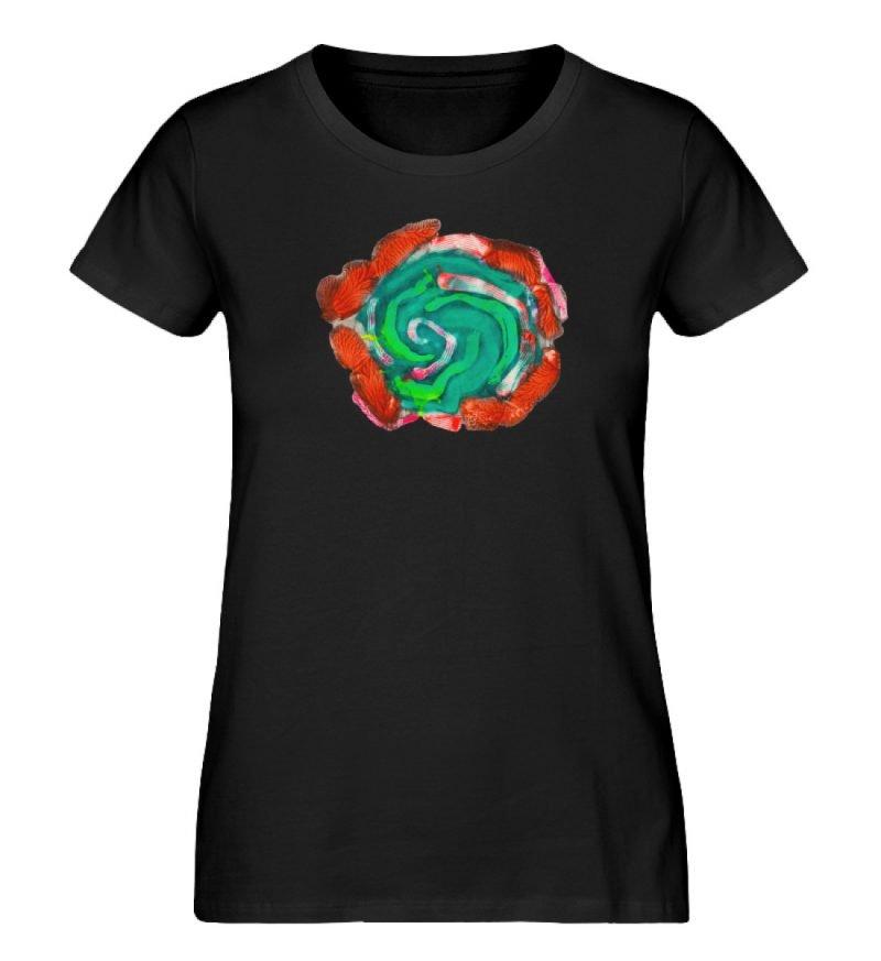 """""""Aus der Mitte 4"""" von Carolin Leyck - Damen Premium Organic Shirt-16"""