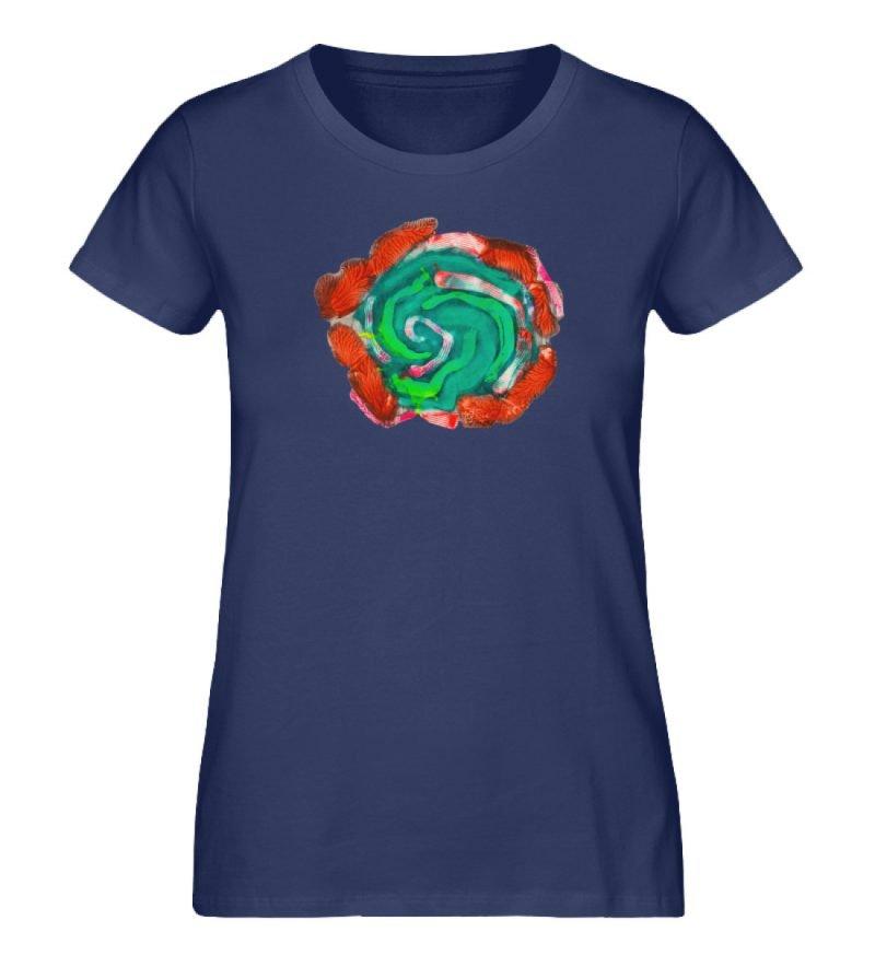"""""""Aus der Mitte 4"""" von Carolin Leyck - Damen Premium Organic Shirt-6057"""