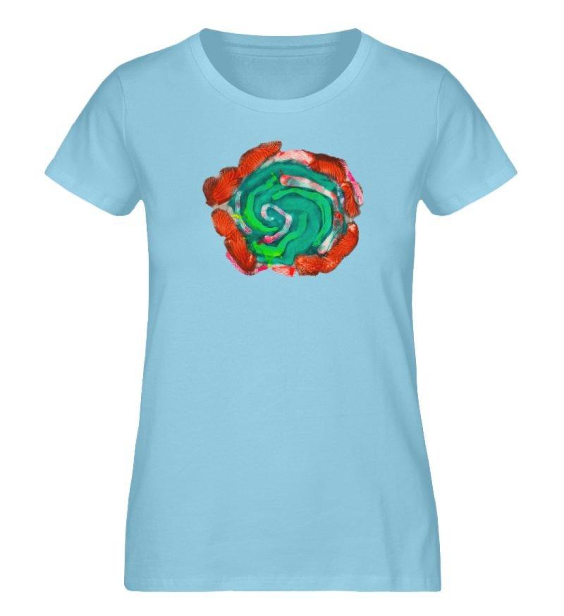 """""""Aus der Mitte 4"""" von Carolin Leyck - Damen Premium Organic Shirt-674"""
