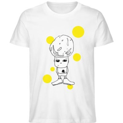 """""""Standpunkte Rock"""" von Susanne Beucher - Herren Premium Organic Shirt-3"""