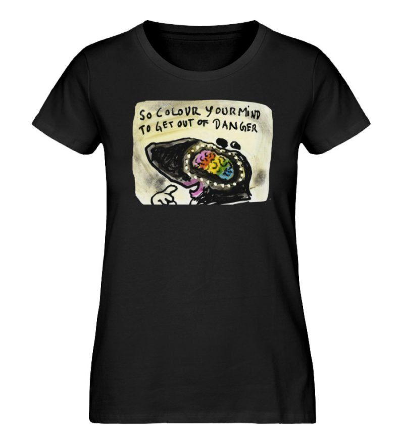 """""""So colour your mind"""" von Steffen Haas - Damen Premium Organic Shirt-16"""