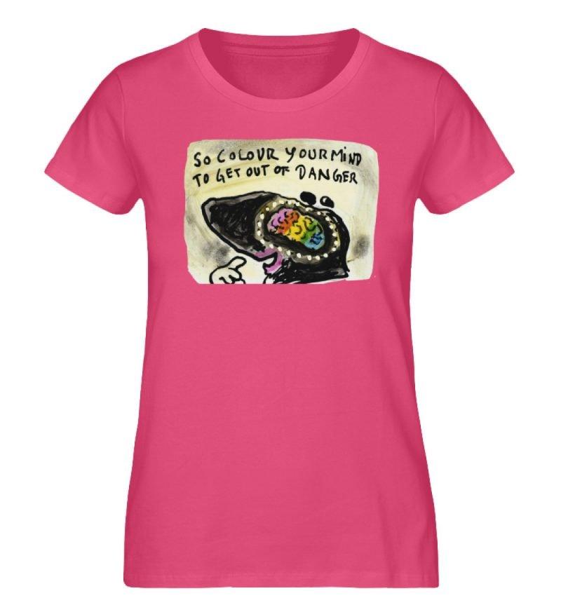 """""""So colour your mind"""" von Steffen Haas - Damen Premium Organic Shirt-6866"""
