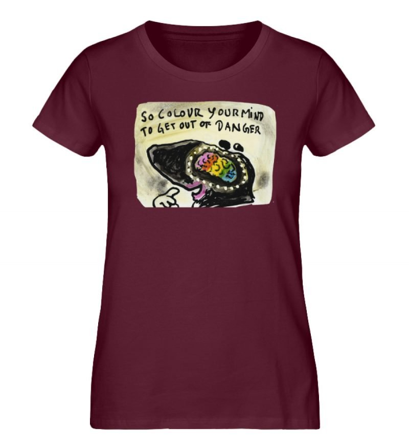 """""""So colour your mind"""" von Steffen Haas - Damen Premium Organic Shirt-839"""