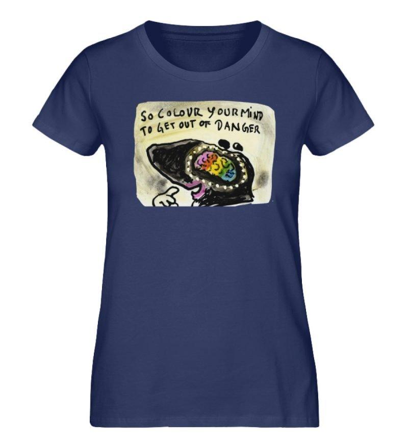 """""""So colour your mind"""" von Steffen Haas - Damen Premium Organic Shirt-6057"""