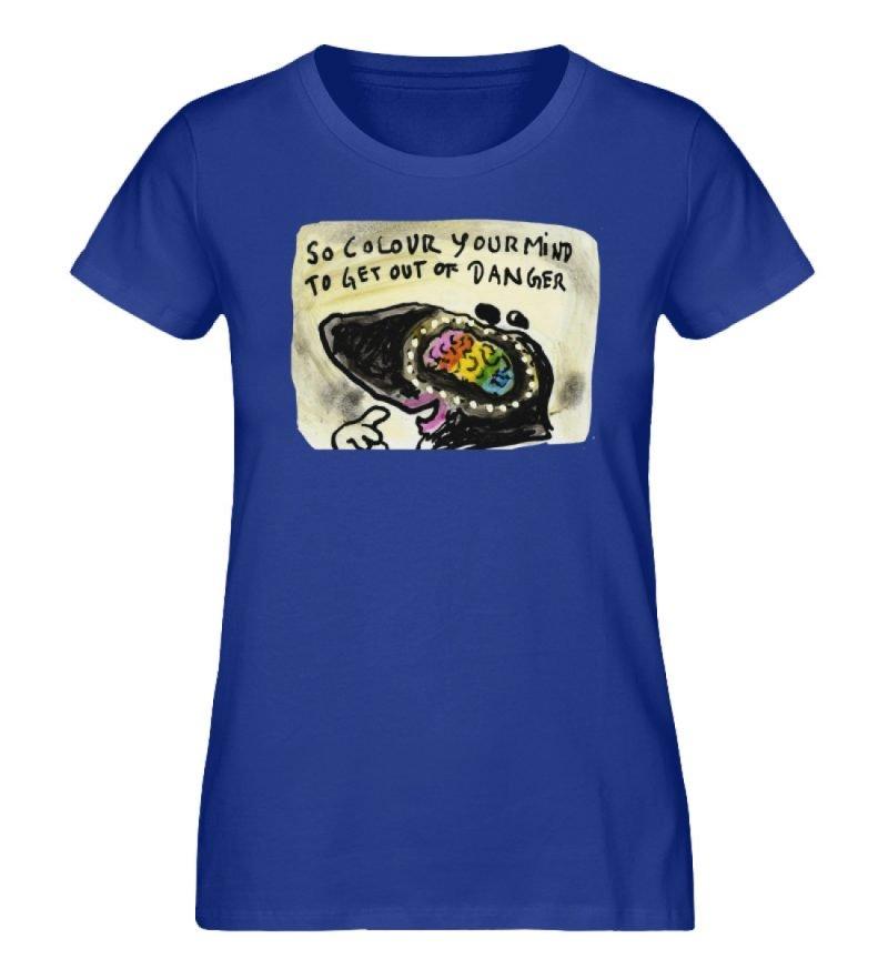 """""""So colour your mind"""" von Steffen Haas - Damen Premium Organic Shirt-668"""