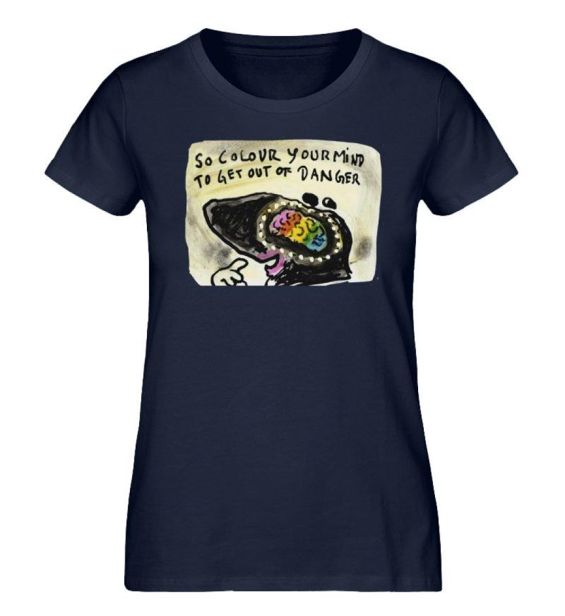 """""""So colour your mind"""" von Steffen Haas - Damen Premium Organic Shirt-6959"""