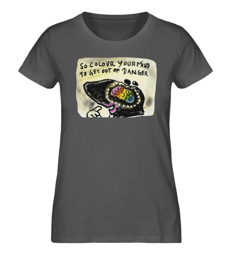 """""""So colour your mind"""" von Steffen Haas - Damen Premium Organic Shirt-6903"""