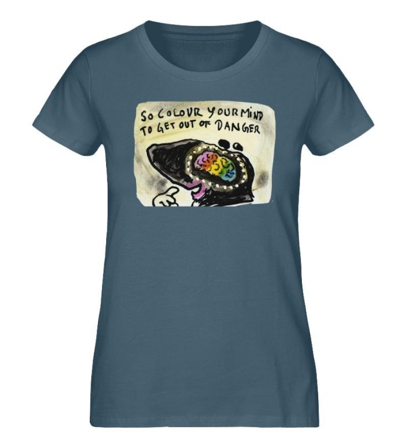 """""""So colour your mind"""" von Steffen Haas - Damen Premium Organic Shirt-6880"""
