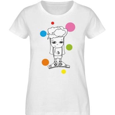 """""""Standpunkte 1"""" von Susanne Beucher - Damen Premium Organic Shirt-3"""