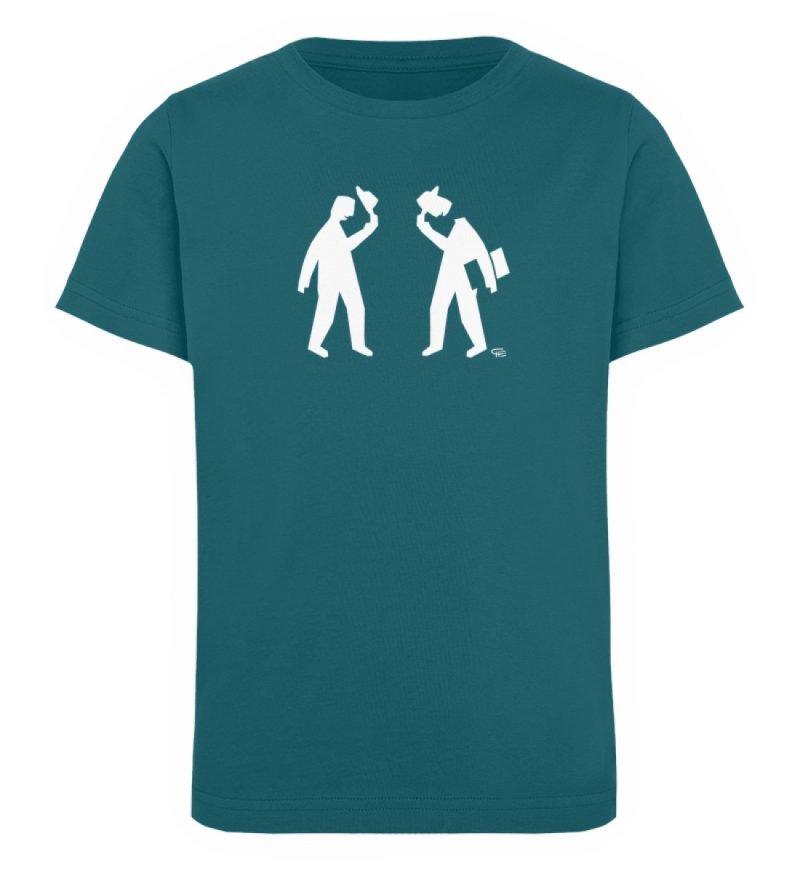 """Kopf ab"" von Christoph Everding - Kinder Organic T-Shirt-6878"