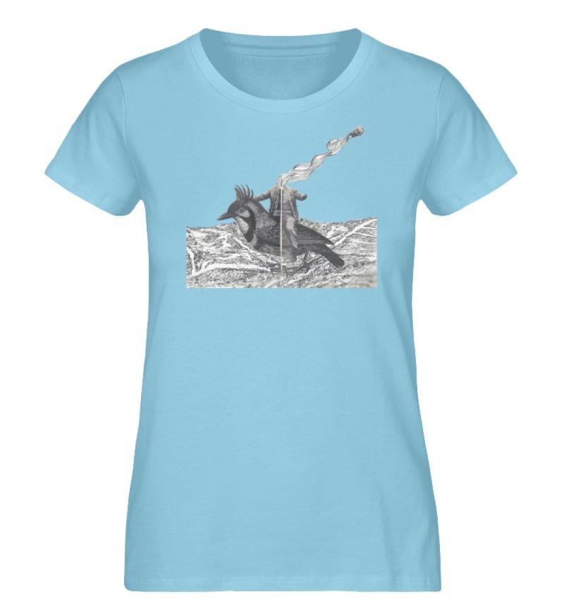 """boceto"" von Chema Chino - Damen Premium Organic Shirt-674"