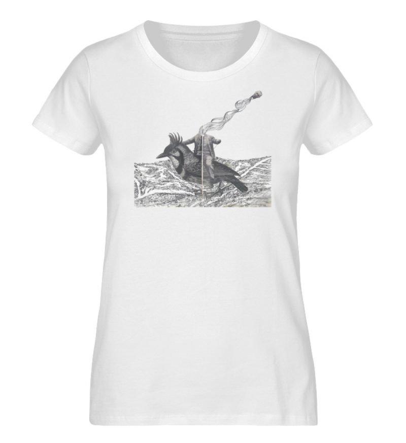 """boceto"" von Chema Chino - Damen Premium Organic Shirt-3"