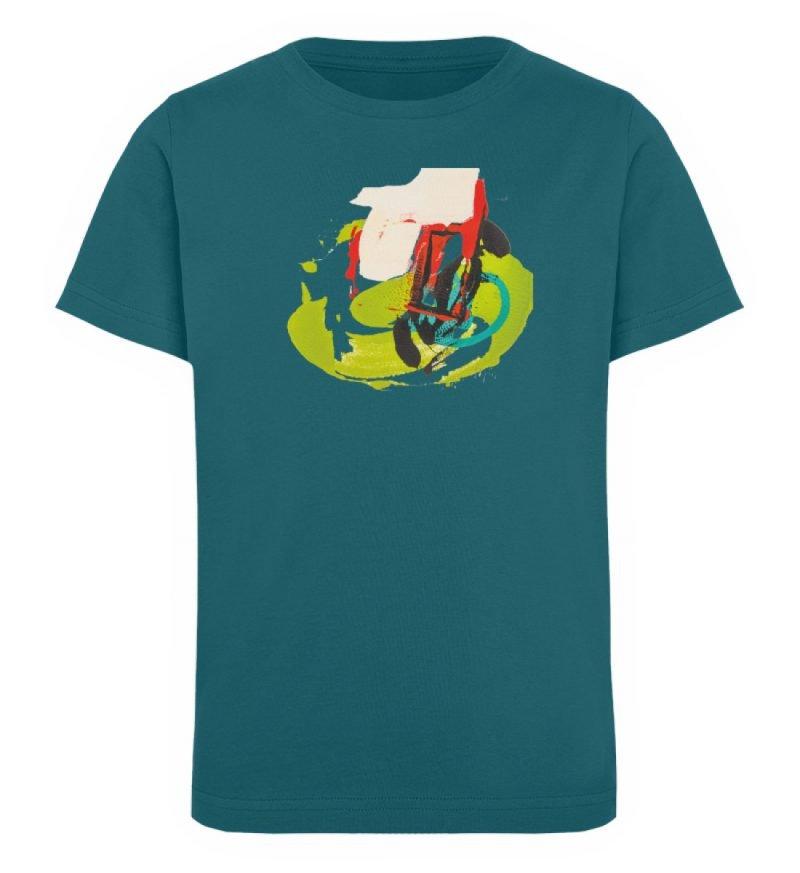 """""""Die Zukunft wird knapp"""" von Sarah Rogen - Kinder Organic T-Shirt-6878"""
